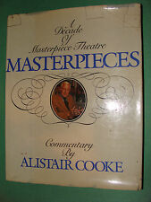 Alistair Cooke Commentary Decade of Masterpiece Theatre 1981 Hc w/dj