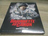 """BLU-RAY NEUF """"BAIONNETTE AU CANON"""" Richard BASEHART, Gene EVANS / Samuel FULLER"""