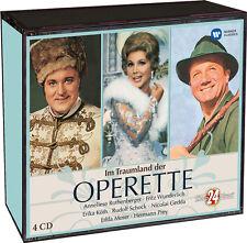 Im Traumland der Operette - Ein Muss für jeden Freund der Klassik!  4 CDs NEU!