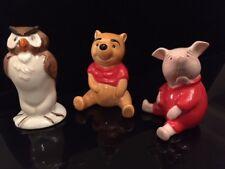 Beswick Ware 3 Disney figurines - Pooh Bear, Owl and Piglet