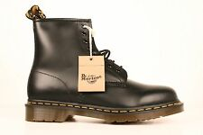 Dr Martens 1460 Mens Black Smooth Leather 8 Eye Boots Sz 7