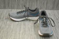 ASICS GT-1000 7 1012A029 Running Shoes, Women's Size 9.5W, Grey/ Blue