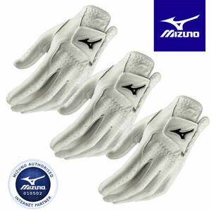 Mizuno Tour Cabretta Leather Golf Glove Men's White - NEW! 2021