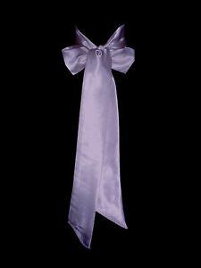 LILAC Satin Wedding Fancy Dress Party Ribbon Sash Tie Belt Band Bridesmaid Bow