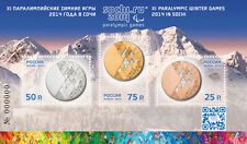 2014. Russia. XI Paralympic Winter Games 2014 in Sochi. S/sheet. MNH