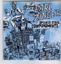 (DE582) Earl Zinger, Speaker Stack Commandments - DJ CD