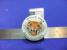 vtg tin badge jungle club provinces of india agra oudh 1920s 30s rare childrens