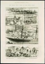 1885-Argentina River Plate Paraná River Campana carne envío de Comercio (217)