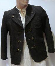 ☛Schöne braune gestickte Miesbacher Trachten Jacke vom Danzer Hausham Gr.46/48 ☚
