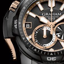 SALE GRAHAM CHRONOFIGHTER PRODIVE DLC CHRONO AUTOMATIC MEN'S WATCH 45mm $18,080