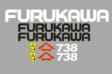 Sticker, aufkleber, decal - FURUKAWA 738