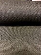 "Black Comfort Twill Fabric Nomex ® Aramid Kevlar ® FR 61"" Fire Retardant DWR"