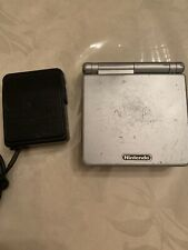 Nintendo Game Boy Advance Launch Edition Silver Handheld System