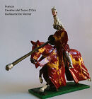 HQ painted 54 mm lead soldier very detailed collectable Francia Toson d'Oro