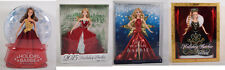 Happy Holidays Barbie Dolls 2015 2016 2017 2006 Collection Lot of 4