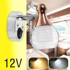Reading Light 12V Interior LED Marine RV Fixture Boat Camper Spotlight Wall Lamp