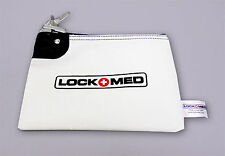 LOCKMED Small Medication Bag w/ Key Lock Free U.S. Shipping Safeguard Your Meds
