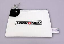 LOCKMED Small Medication Bag w/ Key Lock Free U.S. Shipping Safeguard Your Meds