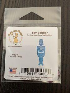Cheery Lynn Designs Christmas Nutcracker Toy Soldier Metal Cutting Die B634