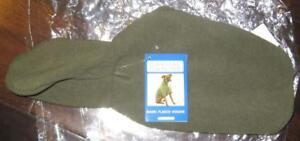 CASUAL CANINE X-SMALL FLEECE HOODIE Green XS Dog Puppy Shirt Coat Jacket Hoody