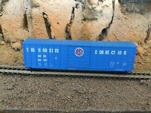 N Scale Roundhouse 50' single door boxcar HOSC HOOSIER CONNECTION mtl cplrs NIB