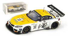 Spark SP072 BMW Z4 GT3 'Roal Motorsport' Portugal 2014 - Alex Zanardi 1/43 Scale