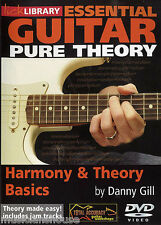 LICK LIBRARY ESSENTIAL GUITAR HARMONY & THEORY BASICS Learn To Play Scales DVD