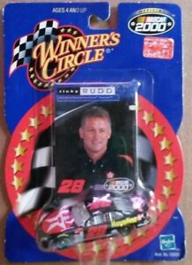 NASCAR Winner's Circle Ricky Rudd car 1:64 scale and card NIP