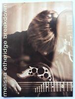 MELISSA ETHERIDGE Breakdown 1999 Tour Concert Program Book