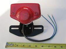 Taillight & Metal Brkt with bulb for Honda CT70 Trail70 C70 Dirt Bike Moped ATV