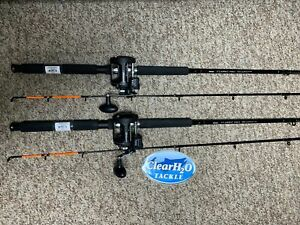 2PK OKUMA CLASSIC PRO 8'6 MEDIUM 2PC W/ SHAKESPEARE ATS 30 LINECOUNTER TROLLING