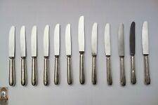 12 Tafelmesser Messer Besteck Hollandia Plate Stainless mit Sägezähne
