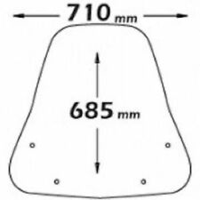 Cupolino paravento Isotta Kymco Agility 50 -125 -150 -R16 08/09 staffe incluse