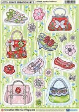 Craft Creations Handbags and Shoes 1 Creative Die-Cut Toppers CDT009P