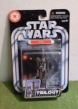 Trilogía de Star Wars cardada Original OTC IG-88 Bounty Hunter Imperio Contraataca