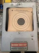 VINTAGE SHERIDAN PELLET AIR GUN TARGET TRAP