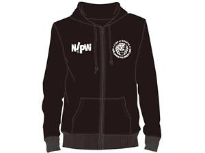 Official NJPW - New Japan Pro Wrestling - Lionmark Black Hoodie