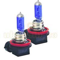 XENON H11 BULBS 55W BRIGHT BLUE / WHITE