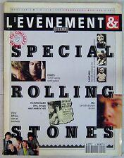 Revue Paroles et Musique Spécial Rolling Stones 1990
