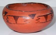 Native American Maricopa Pottery Bowl 1940's Red Clay Small  Early Piece