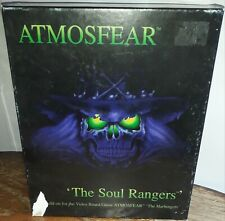 ATMOSFEAR THE SOUL RANGERS VIDEO BOARD GAME ADD ON OPENED BUT SEALED CONTENTS VG