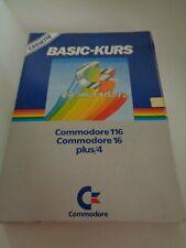 COMMODORE 16/116/PLUS4 --> BASIC-KURS / SOFTWARE