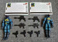GI Joe Action Force Spytroops Valor Vs Venom Neo Viper V1 2002 Lot of 2 Complete