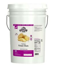 Dehydrated Potatoes Disaster Preparedness Supplies Slices 10 Lb Bucket Emergency
