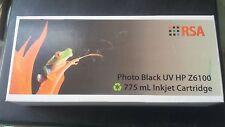 RSA Z6100PK BLACK UV HP INKJET CARTRIDGE