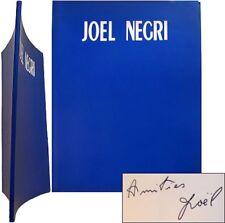 Signé Joël Négri 1991 catalogue exposition Grenoble Arthotèque Ferrier sculpture