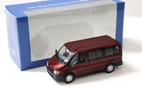 1:43 Minichamps Ford Transit Tourneo 2000 red DEALER NEW bei PREMIUM-MODELCARS