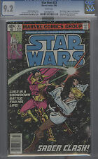 Star Wars #33 (1980) Cgc 9.2 White Pages
