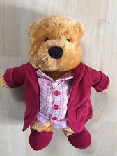 Disney Store Vintage Winnie The Pooh In Dressing Gown And Slippers