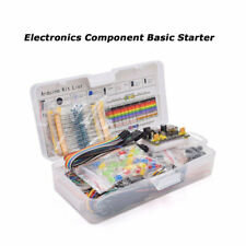 Básico Principiantes Electrónicos Prototipo Placa de Pruebas con Componentes Kit
